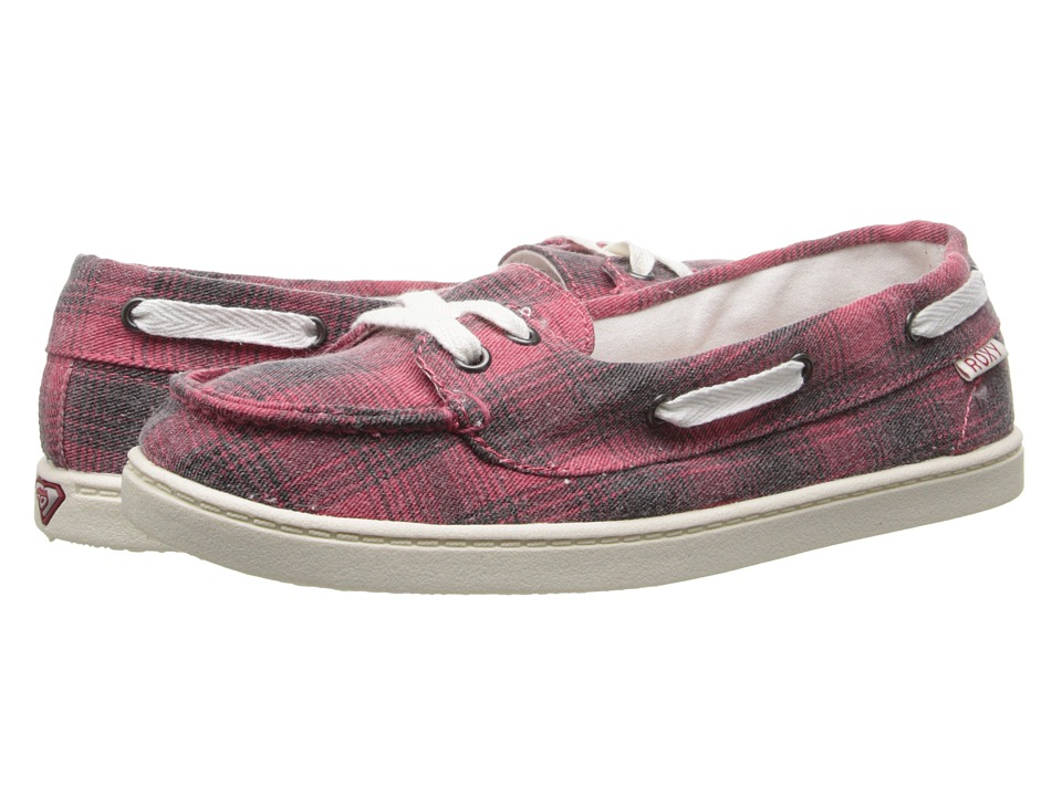 Roxy - Ahoy II (Red) Women's Slip on Shoes