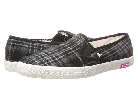 Roxy - Seacliff (Black) Women's Slip on Shoes