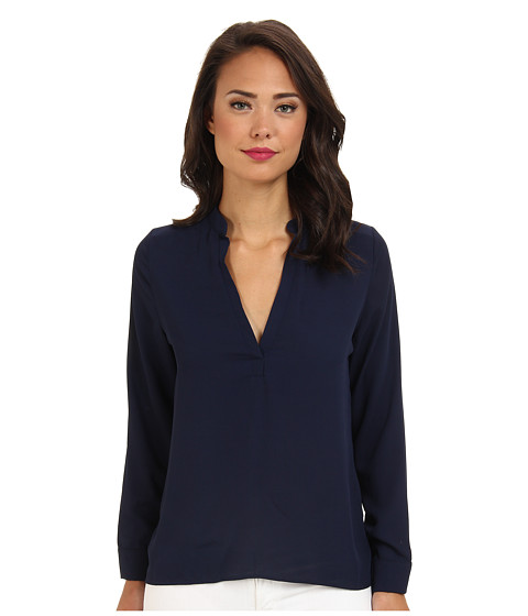 Brigitte Bailey - Sophie Blouse (Navy) Women's Blouse