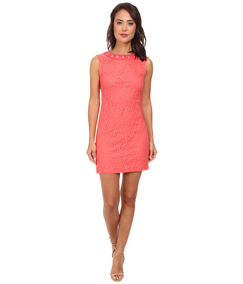 rsvp - Amy Shift Dress (Coral) Women's Dress