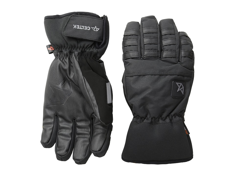 Celtek - Ace Gloves (Black) Snowboard Gloves