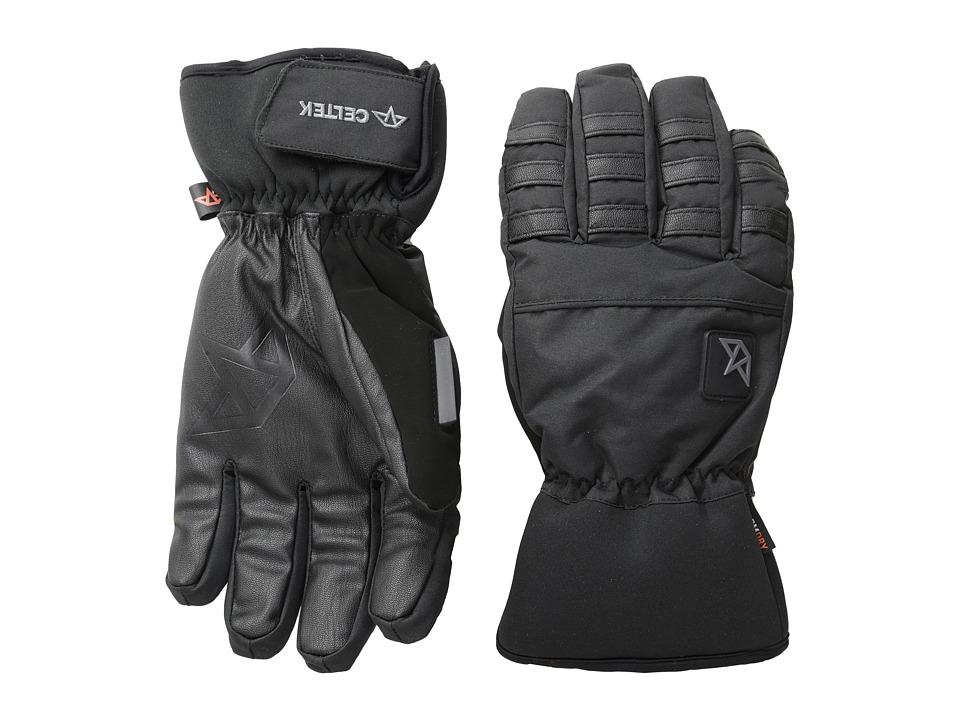 Celtek - Ace Gloves (Black) Snowboard Gloves