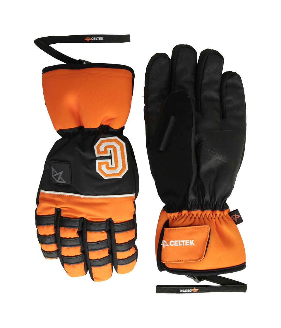 Celtek - Ace Gloves (Orange) Snowboard Gloves