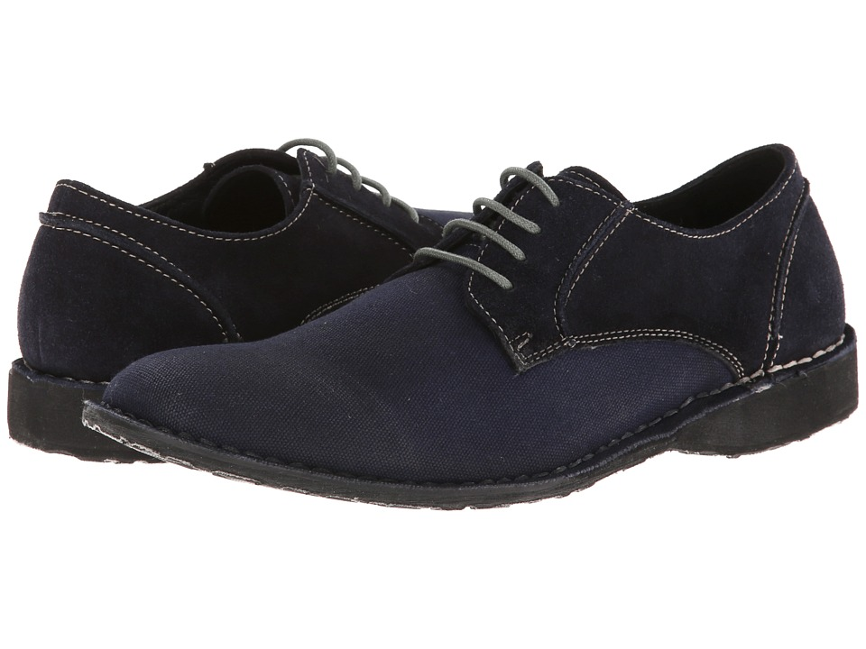Rogue - York (Navy) Men's Lace up casual Shoes