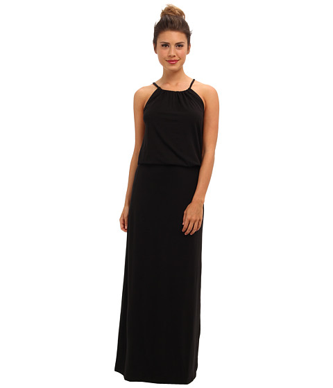 Splendid - Grecian Maxi Dress (Black) Women's Dress