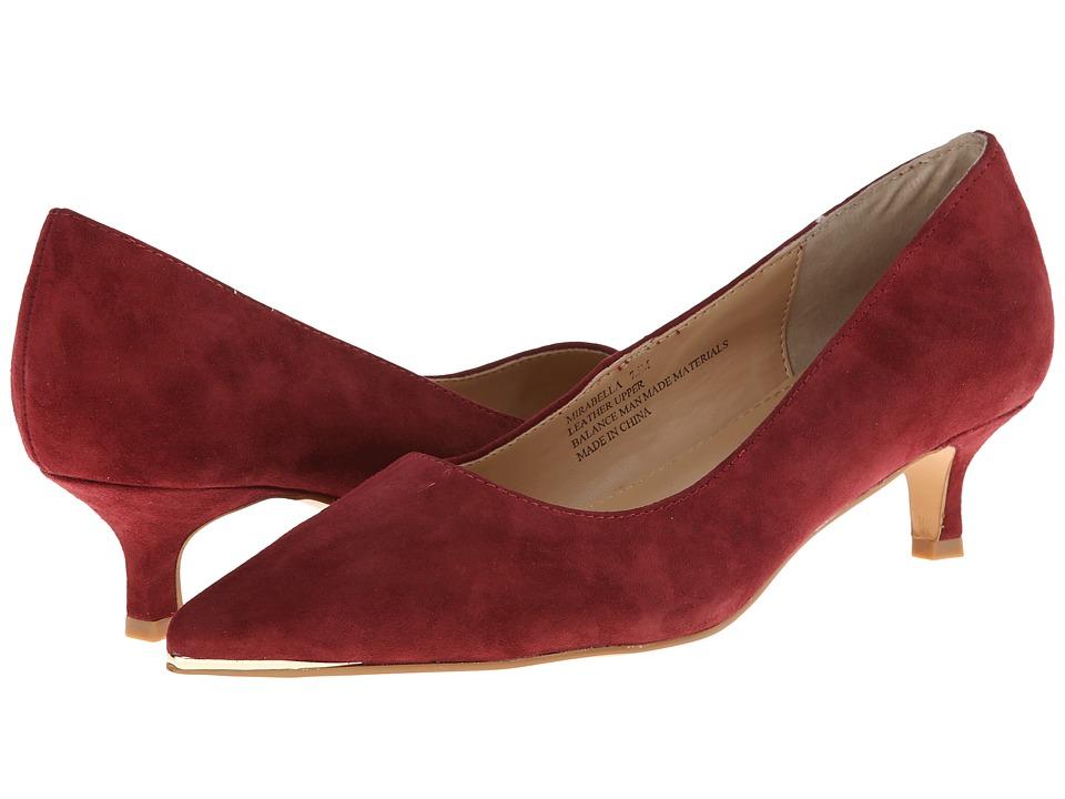 rsvp - Mirabella (Wine Suede) High Heels