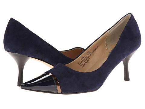 Fitzwell - Samantha (Navy Suede) High Heels