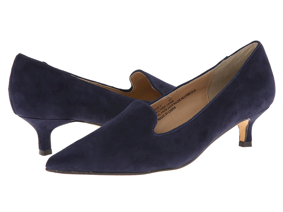 Fitzwell - Emily (Navy Suede) High Heels