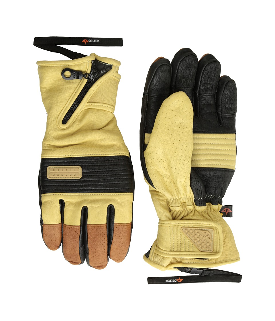 Celtek - Lira Gloves (Saddle Brown) Snowboard Gloves