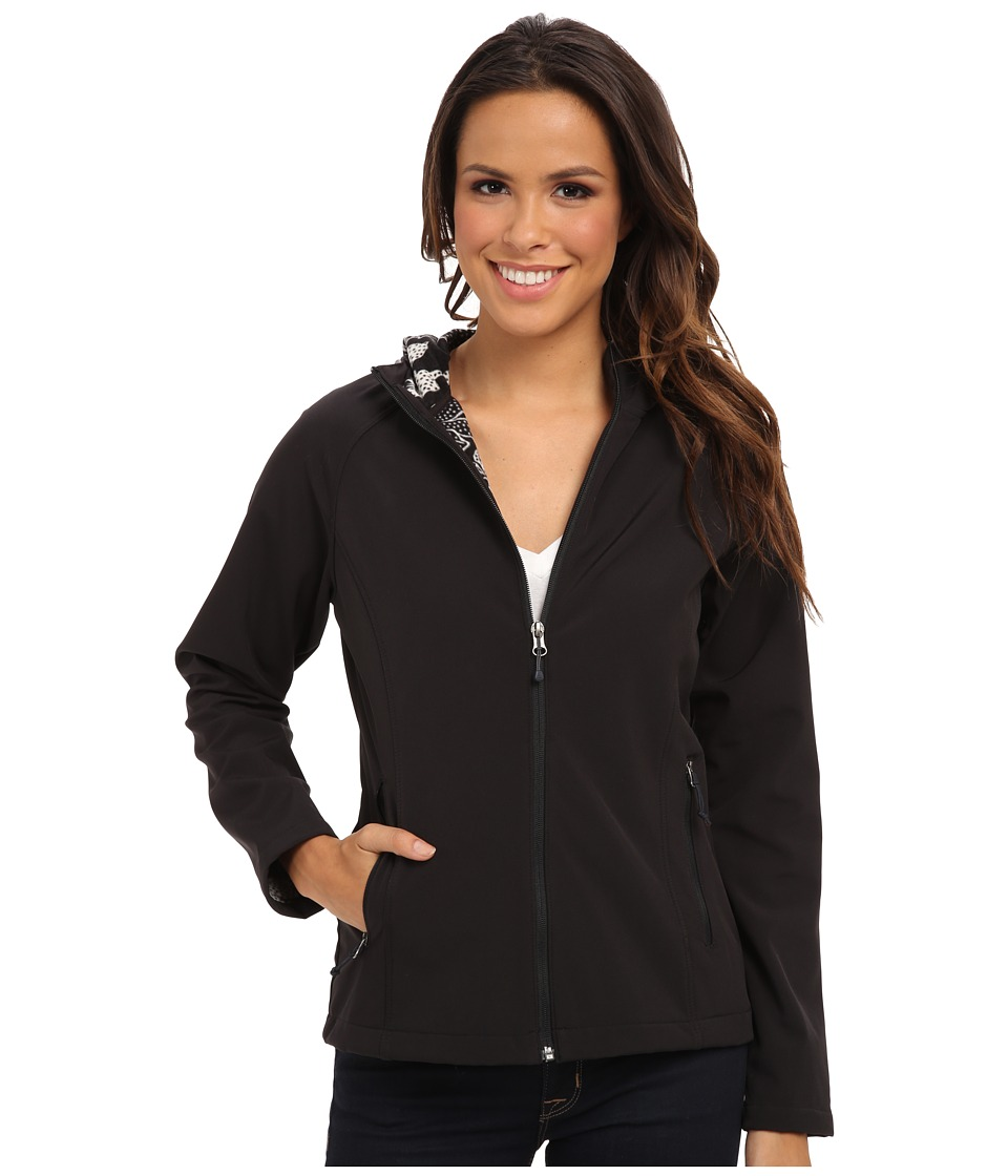 Type Z - South Shore Hooded Softshell (Black) Women