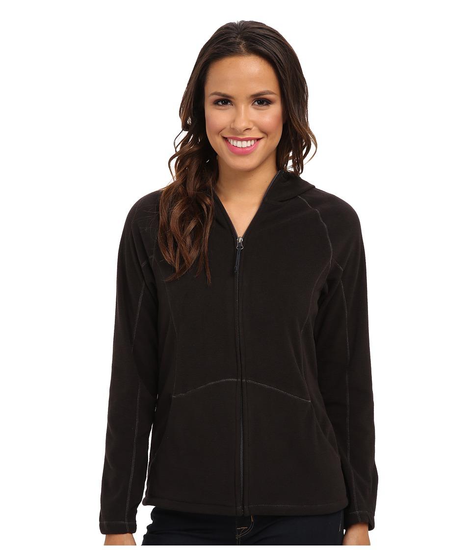Type Z - Alpha Beta Hooded Jacket (Black) Women's Sweatshirt