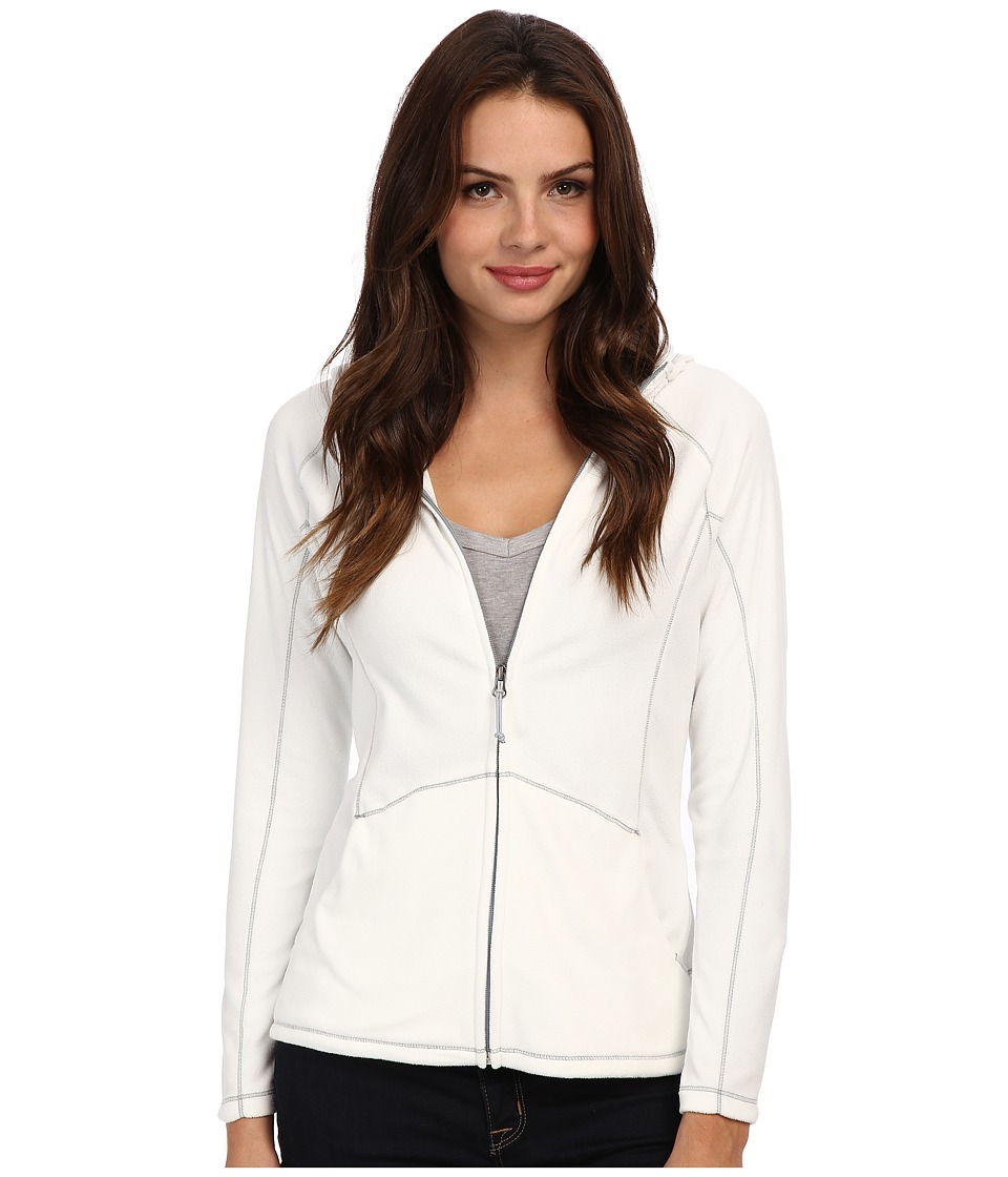 Type Z - Alpha Beta Hooded Jacket (Cloud) Women's Sweatshirt