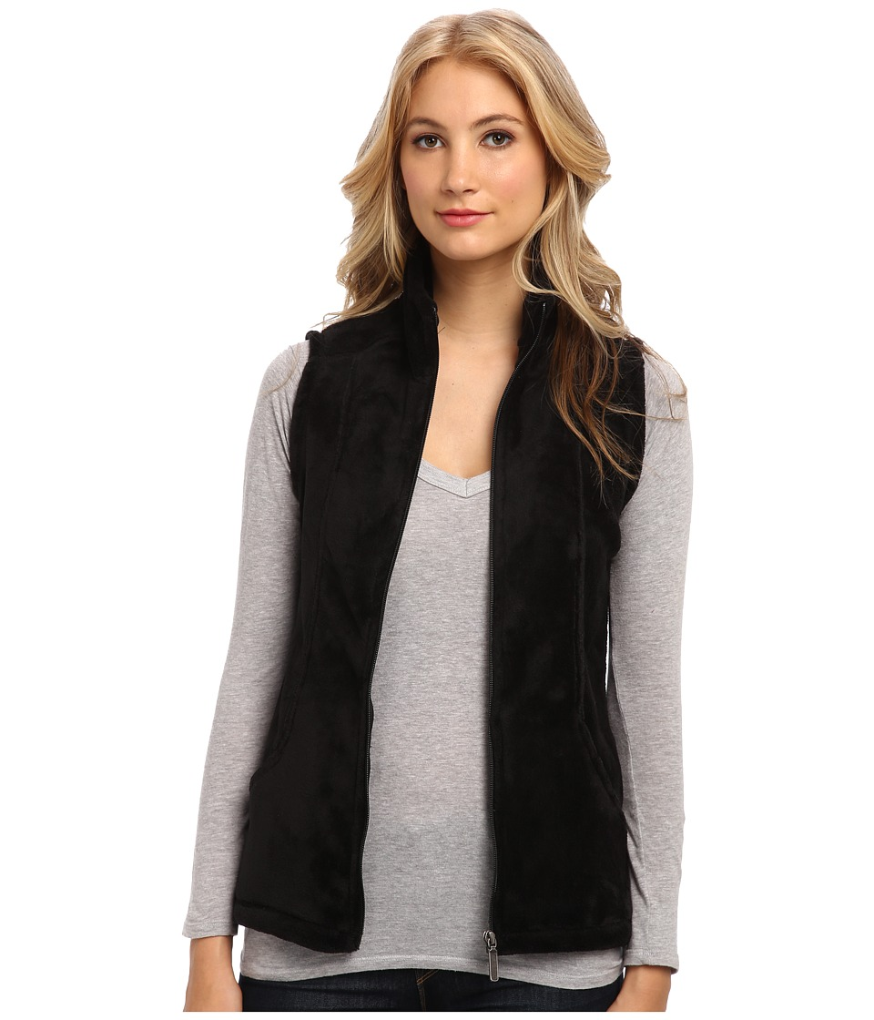 Type Z - Cozy Vest (Black) Women's Jacket