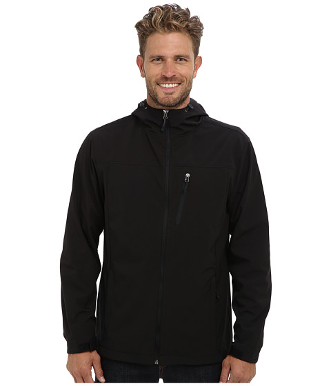 Type Z - South Shore Hooded Softshell (Black) Men's Coat