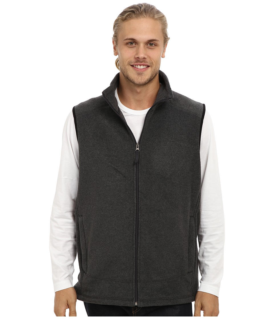 Type Z - Sierra Mountain Vest (Charcoal Heather) Men