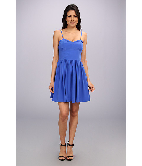 Amanda Uprichard - Mimosa Dress (Cobalt/Cobalt/Academy) Women's Dress