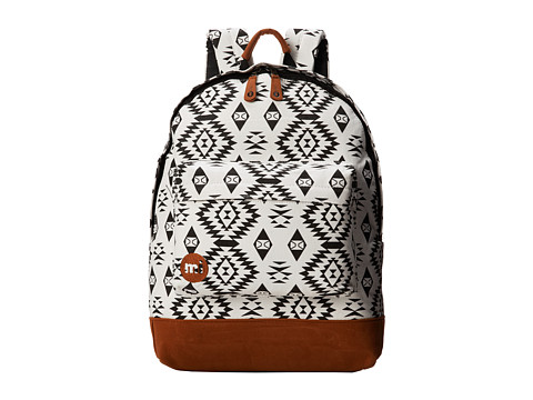 Mi-Pac - Mi-Pac Native (Black/White) Backpack Bags