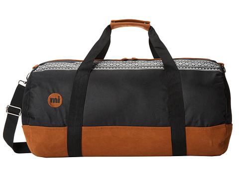 Mi-Pac - Mi-Pac Duffel Nordic (Black) Duffel Bags