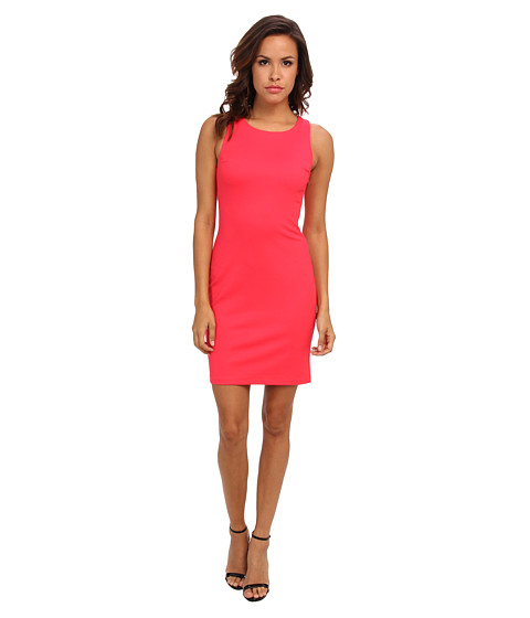 Amanda Uprichard - Ponte Ladder Back Dress (Electric Rouge) Women