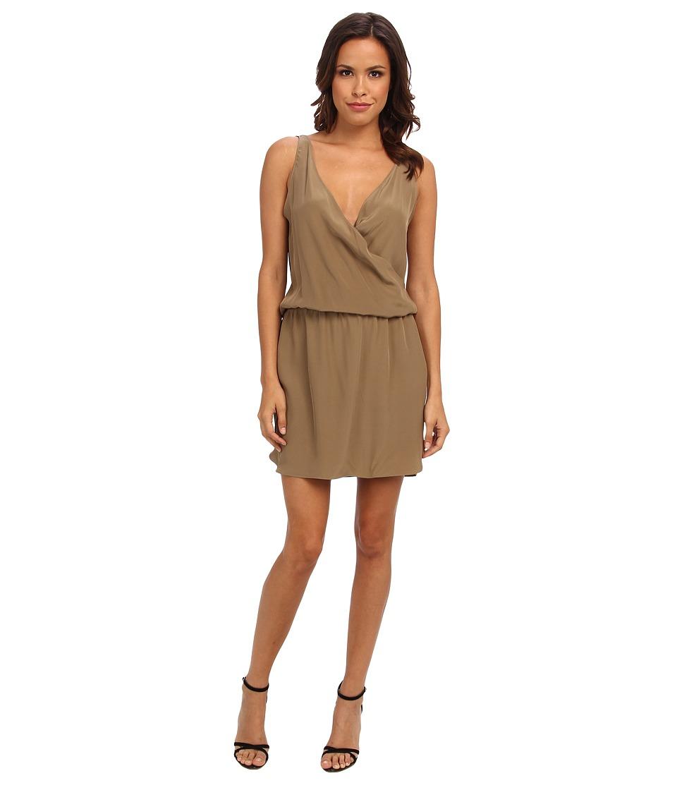 Amanda Uprichard - Double Crossover Dress (Moss) Women