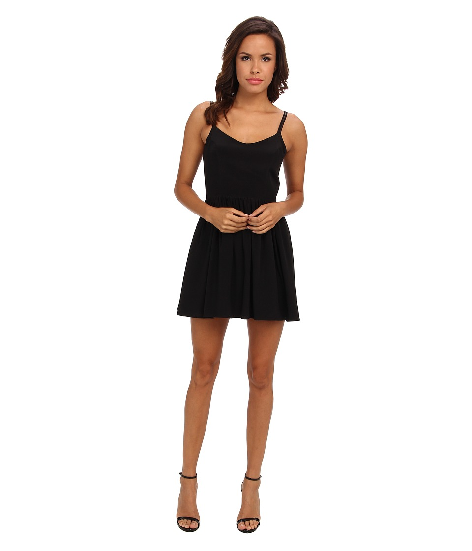 Amanda Uprichard - Afternoon Dress (Black) Women's Dress