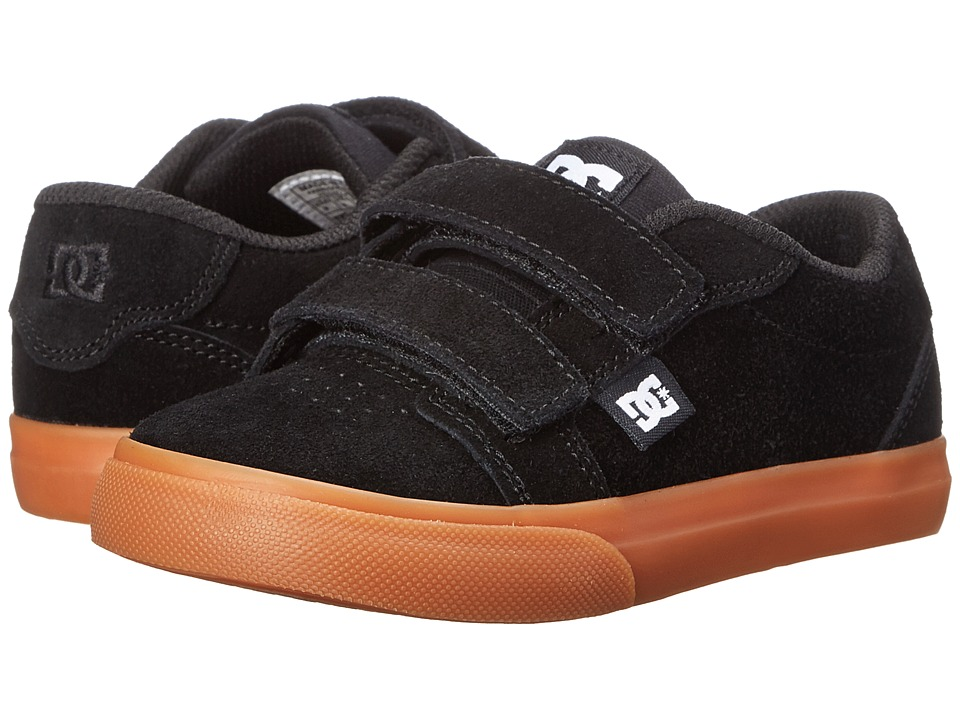 DC Kids - Anvil V (Toddler) (Black/Black/Gum) Boys Shoes