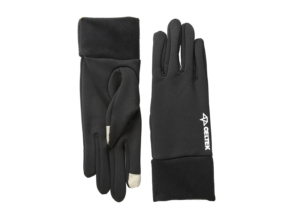 Celtek - Postman Touchscreen Gloves (Black) Snowboard Gloves