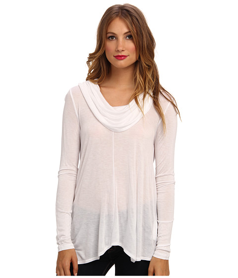 kensie - Viscose Tee (White) Women