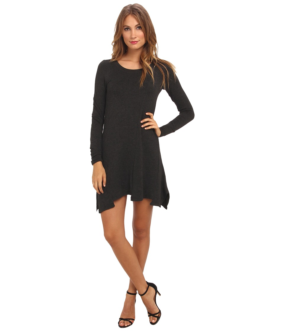 kensie Drift Dress (Heather Charcoal) Women