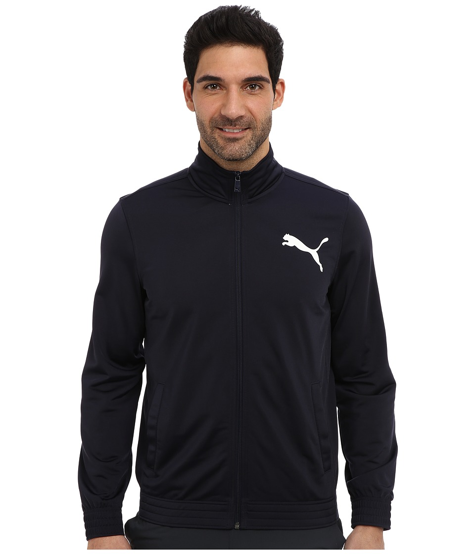 PUMA - Contrast Jacket (New Navy) Men's Coat