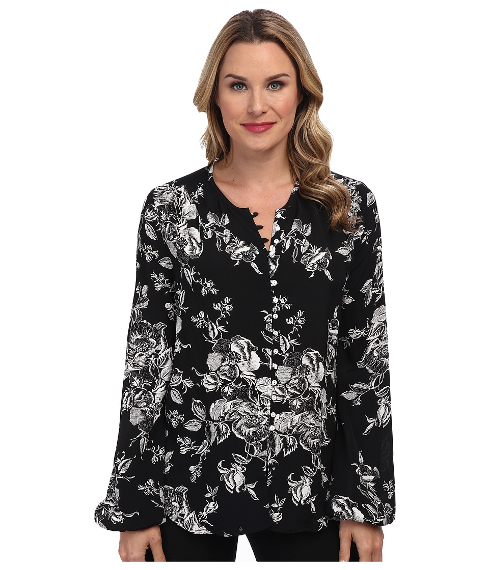Karen Kane - Alpine Rose Blouse (Bow) Women