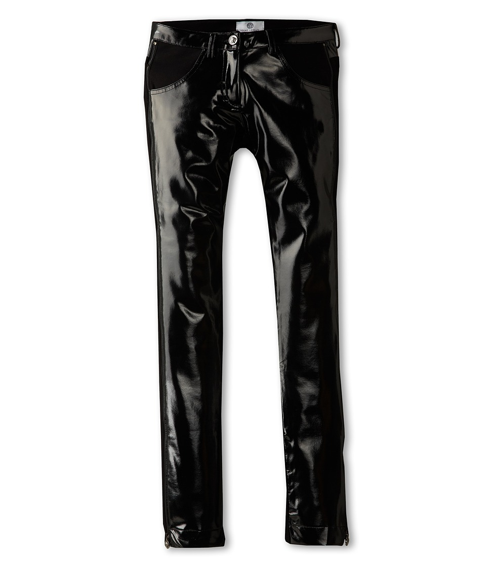 Versace Kids - Shine Pant (Big Kid) (Black) Girl's Casual Pants