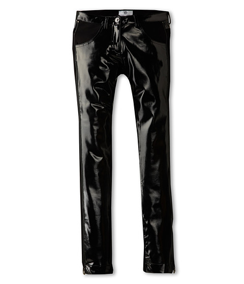 Versace Kids - Shine Pant (Big Kid) (Black) Girl