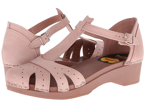 Swedish Hasbeens - Fideli Sandal (Dirty Pink) Women
