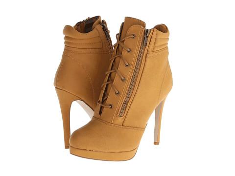 Madden Girl - Hartson (Tan Paris) Women's Zip Boots