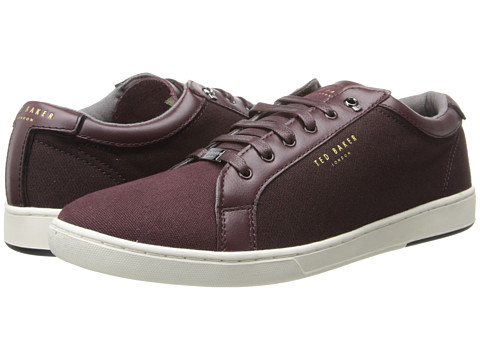 Ted Baker - Keeran (Dark Red Textile) Men's Shoes
