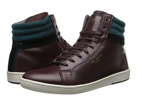 Ted Baker - Kilma (Dark Red Leather) Men's Shoes