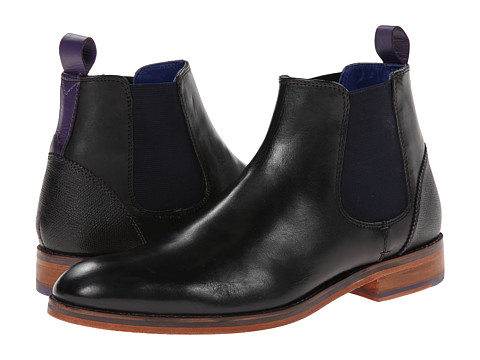 Ted Baker - Camroon (Black Leather) Men