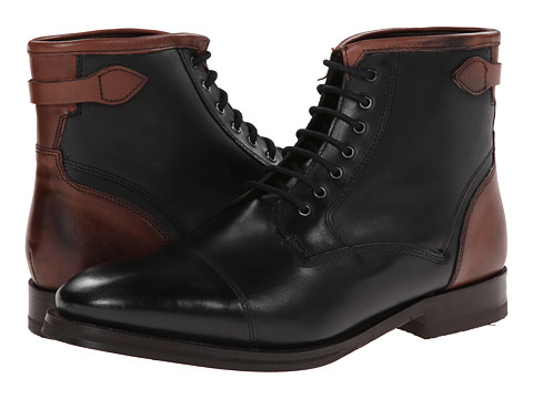 Ted Baker - Comptan (Black Leather) Men