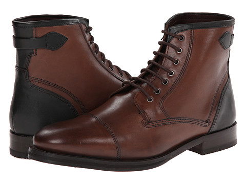 Ted Baker - Comptan (Brown Leather) Men's Lace up casual Shoes