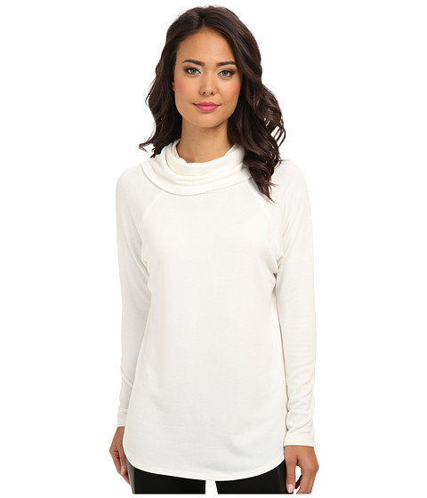 Karen Kane - Funnel Neck Sweater (Cream) Women's Sweater