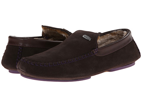 Ted Baker - Ruffas (Brown Suede) Men's Slip on Shoes