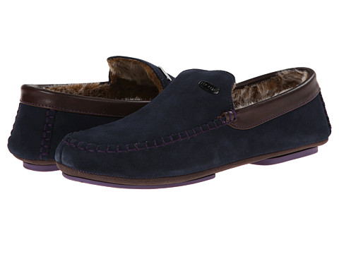 Ted Baker - Ruffas (Dark Blue Suede) Men
