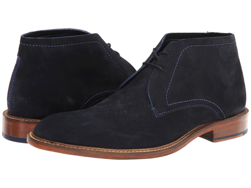 Ted Baker - Torsdi 3 (Dark Blue Suede) Men's Shoes