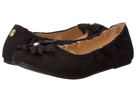 Ivanka Trump Kids - Abigail Ballet (Little Kid/Big Kid) (Black) Girls Shoes