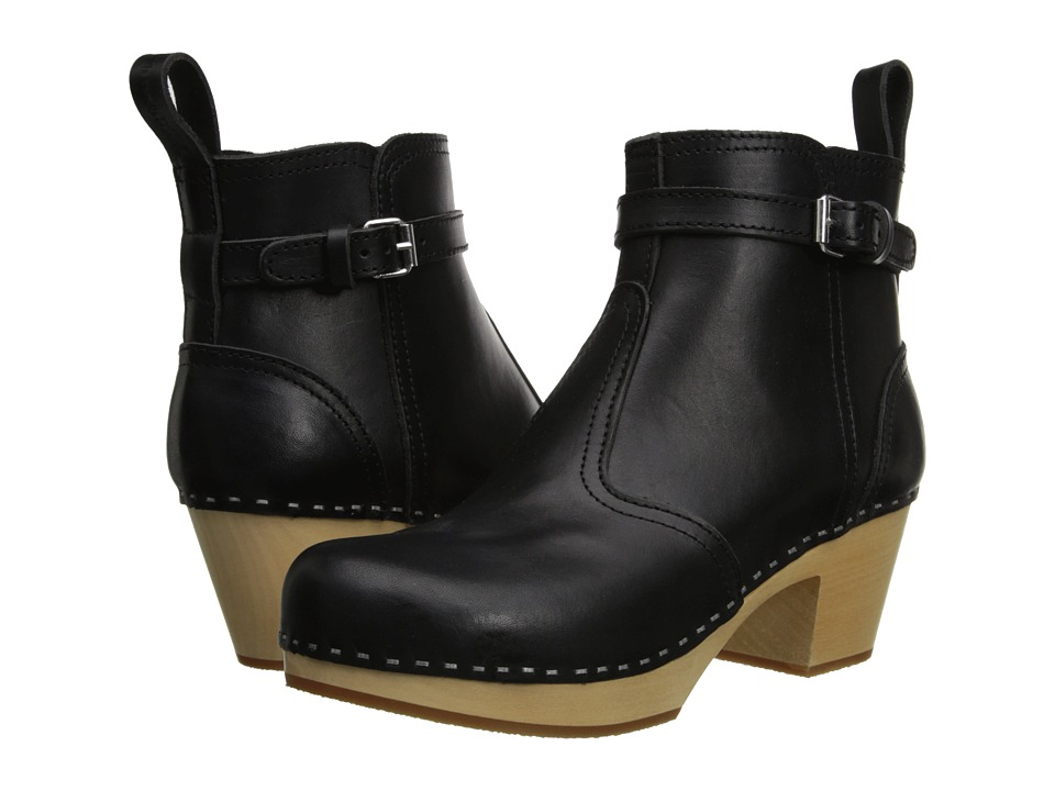 Swedish Hasbeens - Jodhpur (Black) Women's Boots