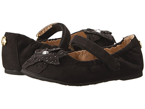 Ivanka Trump Kids - Lil Abigail Ballet (Toddler/Little Kid) (Black) Girls Shoes