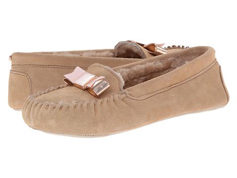 Ted Baker - Sarsone (Light Tan Suede) Women's Slip on Shoes