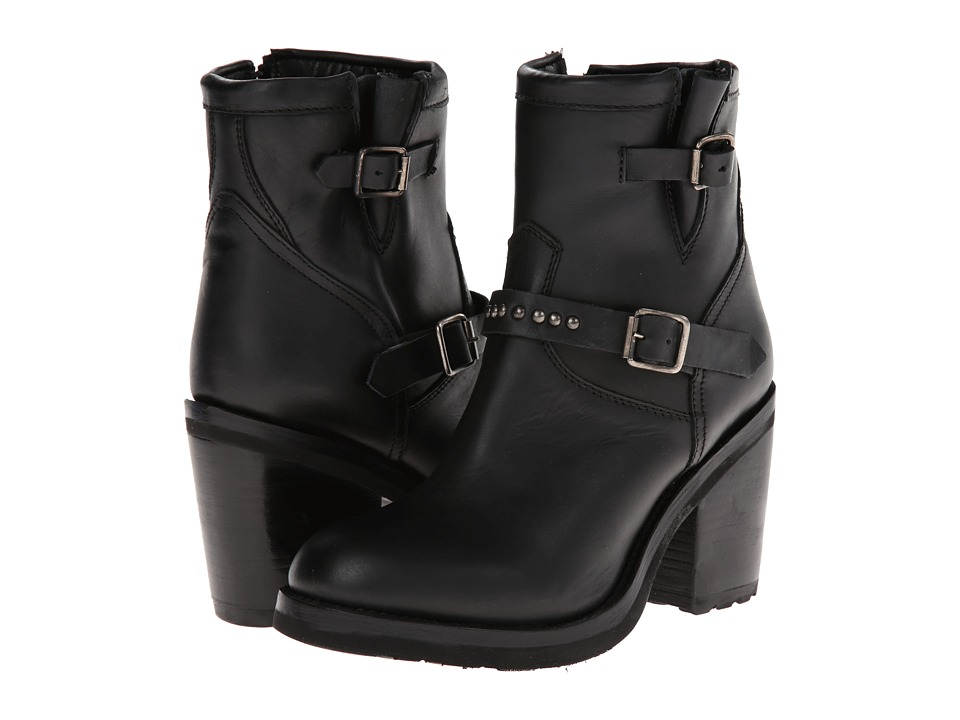 ASH - Universe Bis (Black Oregon) Women's Zip Boots