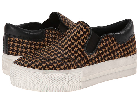 ASH - Jam (Camel/Black Pony Piedde Pou) Women's Slip on Shoes